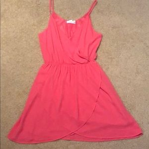 Pink sundress!